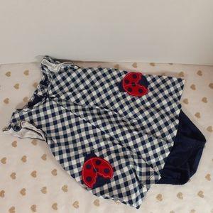 7/$40 Carter's Onesie Dress